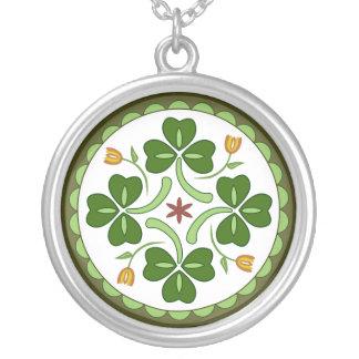 Halskette - irische viel Glück-Hexe