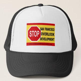 HALT SF übersehen Entwicklung Truckerkappe