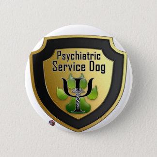 Halten Sie Hundehelfer-grünes Gelee instand Runder Button 5,7 Cm