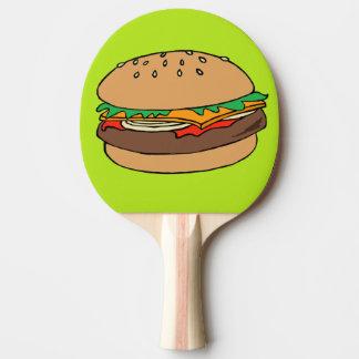 Hamburger-Klingeln pong Paddel Tischtennis Schläger