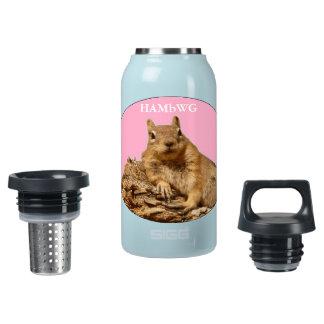 HAMbWG Eichhörnchen w/Pink - Thermo (0.3L) Isolierte Flasche