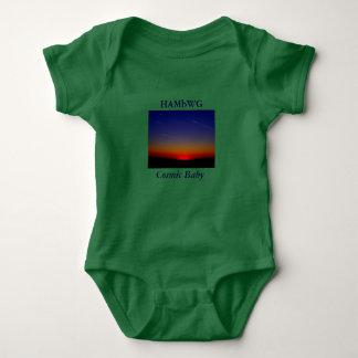 HAMbWG kosmisches Baby - T - Shirt oder Verschluss