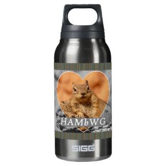 HAMbyWG - 0.3L - geräucherte Perle - Eichhörnchen Isolierte Flasche