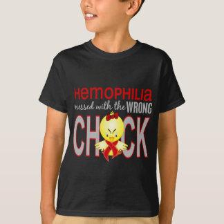Hämophilie verwirrt mit falschem Küken T-Shirt
