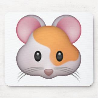 Hamster - Emoji Mousepads