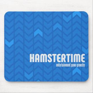 Hamster-Zeit Mousepad - horizontal