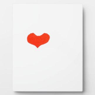Hand heart1 fotoplatte