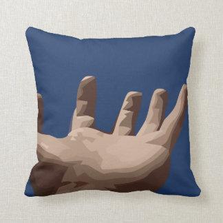 Hand und Himmel Kissen