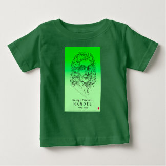 Handel: Stellen Sie die Musik gegenüber Baby T-shirt
