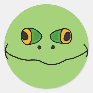 HANDELS unglaublich witzig Frosch-Gesichts-Aufkle
