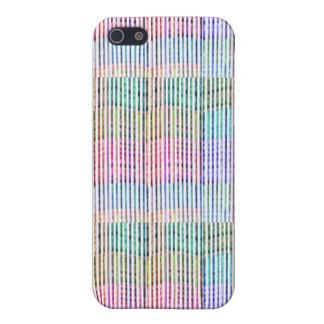 Handgemachtes Gewebe-Entwurfs-Muster - Hintergrund iPhone 5 Schutzhüllen
