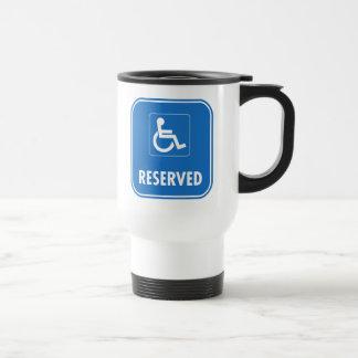 Handikap-Parkzeichen Reisebecher
