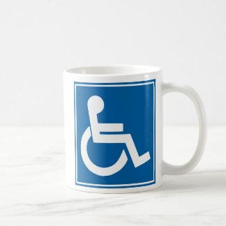 Handikap-Zeichen Tasse