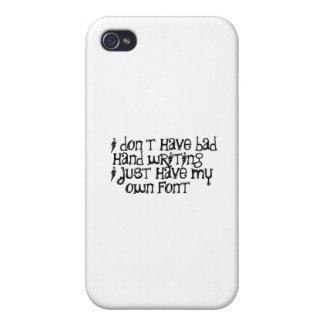 Handschreiben iPhone 4/4S Cover
