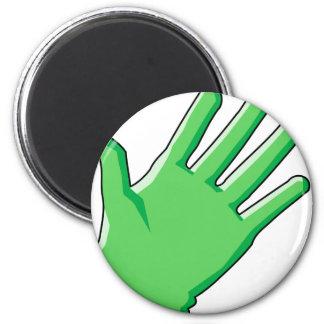 Handschuh Runder Magnet 5,1 Cm
