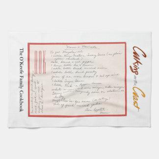 Handwritten Marinade Recipe Mutter Handtuch