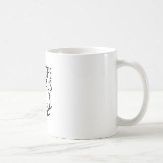 Hannibal essen, das unhöfliche/retten den Tieren Kaffeetasse