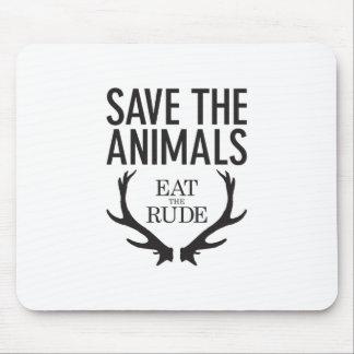 Hannibal Lecter - essen Sie das unhöfliche (retten Mousepads