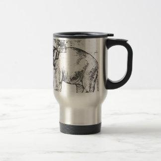 Hanno, die Päpste Löwe X Elephant durch RAPHAEL Reisebecher