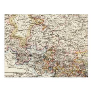 Hannover-Region von Deutschland Postkarte