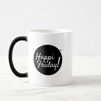 Happi Freitag! Überraschungs-Tasse Verwandlungstasse