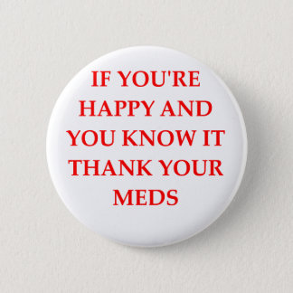 HAPPY.png Runder Button 5,7 Cm