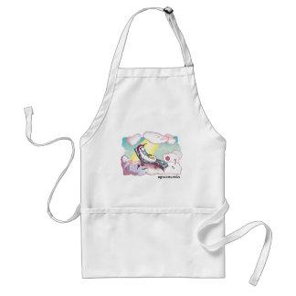 Happy Unicorn - Glückliches Einhorn Schürze