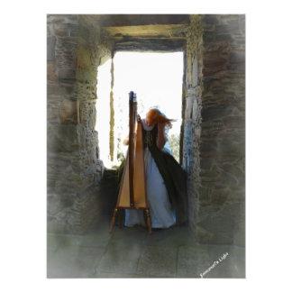Harfe vom letzten Foto-Druck Fotodruck