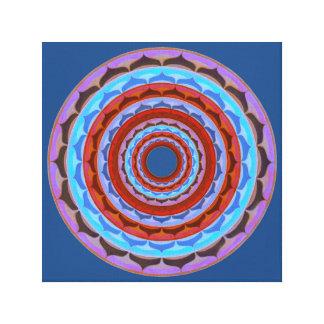 Harmonie-Mandala Leinwanddruck