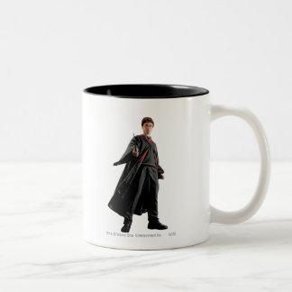 Harry Potter am bereiten Zweifarbige Tasse