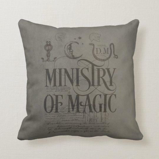 harry potter bann ministerium von magie kissen. Black Bedroom Furniture Sets. Home Design Ideas