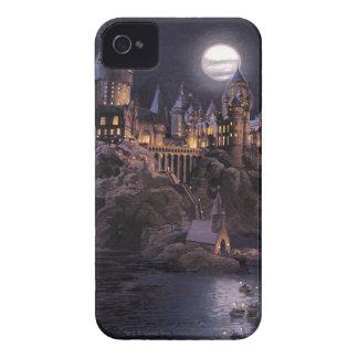 Harry Potter-Castle | großer See zu Hogwarts iPhone 4 Cover