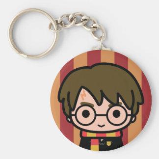 Harry- PotterCartoon-Charakter-Kunst Schlüsselanhänger