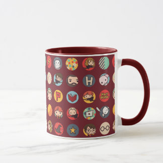 Harry- PotterCartoon-Ikonen-Muster Tasse