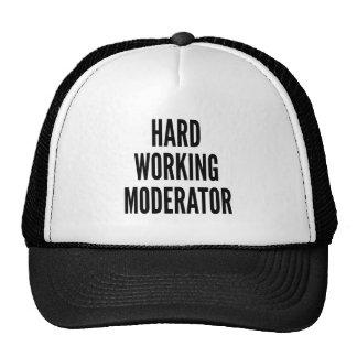 Harter Arbeitsmoderator Trucker Kappe