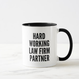Harter Arbeitssozietäts-Partner Tasse