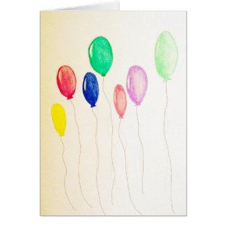 Hartnäckige Ballone Karte