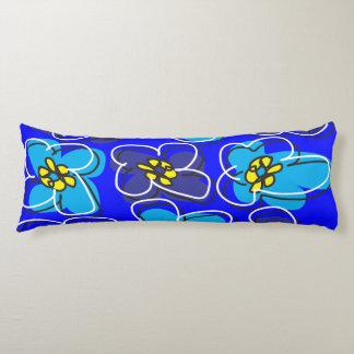 Hartriegel-Retro umschaltbares Kissen-blaues Seitenschläferkissen