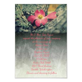 Hartriegel-Rosa Karte