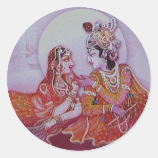 Hasen Krishna Aufkleber