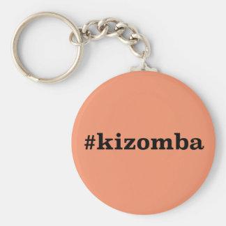 Hashtag Kizomba Standard Runder Schlüsselanhänger