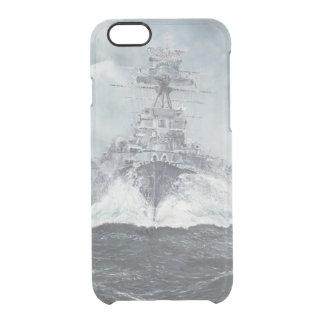 Haubenköpfe für Bismarck 23rdMay 1941. 2014 Durchsichtige iPhone 6/6S Hülle