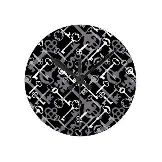 Hauptschlüssel Runde Wanduhr