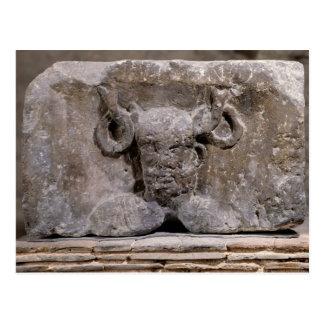 Hauptstadt der Nautes Säule, die Cernunnos Postkarte