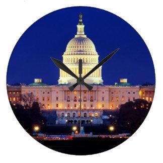 Hauptstadt Washington DCs Vereinigte Staaten an Große Wanduhr