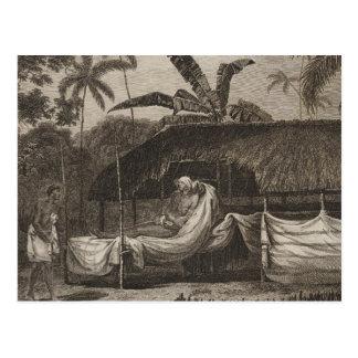 Hauptt-stück, Otaheite, Tahiti Postkarte
