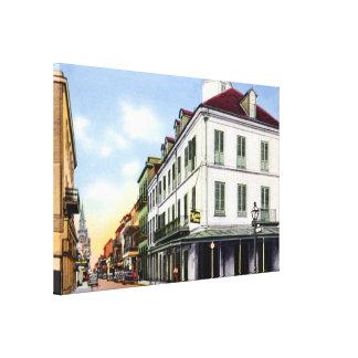 Haus 1940 New Orleans Louisiana Napoleon Leinwanddruck