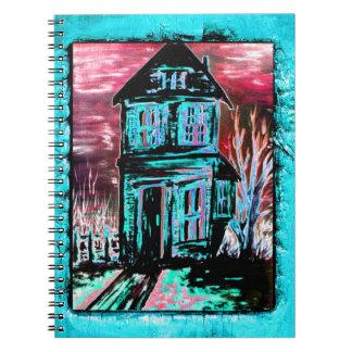 Haus der Einladung Spiral Notizbuch