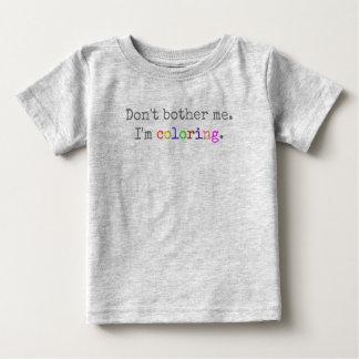 Haus der Reiher-Vorlage:  Stören Sie mich nicht Baby T-shirt