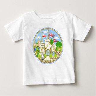 Haus des Hereford Blau-Schlosses Baby T-shirt
